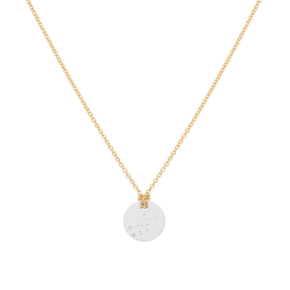 Virgo Constellation necklace