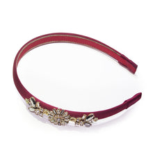 Load image into Gallery viewer, Utopia Floral Crystal-embellished Art Deco Headband