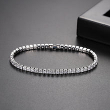 Load image into Gallery viewer, Captivating Shimmer Cubic Zirconia Tennis Bracelet