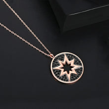 Load image into Gallery viewer, Cubic Zirconia Celestial Star Pendant Necklace