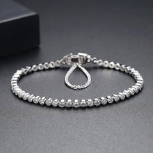 Load image into Gallery viewer, Boundless Brilliance Cubic Zirconia Tennis Bracelet