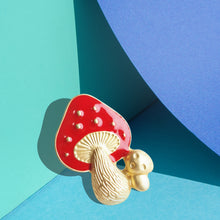 Load image into Gallery viewer, Aeneas House of Fairytale Mushrooms Pin