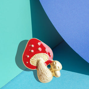 Aeneas House of Fairytale Mushrooms Pin