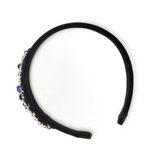 Load image into Gallery viewer, Bartel Raindance Crystals Embellished Velvet Headband