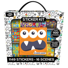 Load image into Gallery viewer, Monsters Sticker Activity Kit, 1000ct