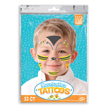 Load image into Gallery viewer, Magic Fun Faces Bee Costume Tattoos