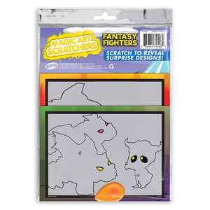 Fantasy Fighters Magic Art Scratchers Bag