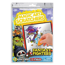 Load image into Gallery viewer, Fantasy Fighters Magic Art Scratchers Bag