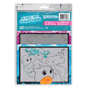 Mermaid Magic Art Scratchers Bag