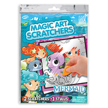 Load image into Gallery viewer, Mermaid Magic Art Scratchers Bag