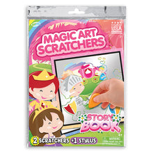 Load image into Gallery viewer, Story Book Magic Art Scratchers Bag