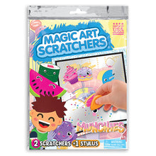 Load image into Gallery viewer, Munchies Magic Art Scratchers Bag