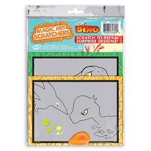 Load image into Gallery viewer, Mighty Dino Magic Art Scratchers Bag