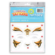 Load image into Gallery viewer, Magic Fun Faces Tiger Costume Tattoos