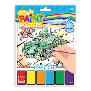 Magic Paint Poster Mega Machines