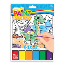 Load image into Gallery viewer, Magic Paint Poster Baby Dino