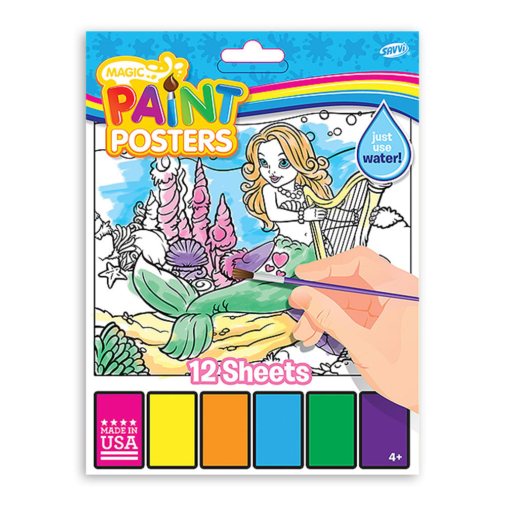 Magic Paint Poster FantaSea-Mermaid