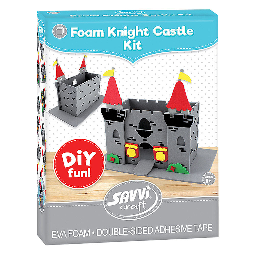 3D Foam Knight Castle Kit