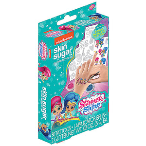 Nickelodeon Shimmer and Shine Skin Sugar Mini Stencil & Prism Foil Acticity Kit