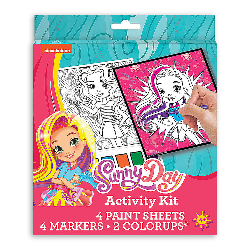 Nickelodeon Sunny Day Color & Paint Activity Kit