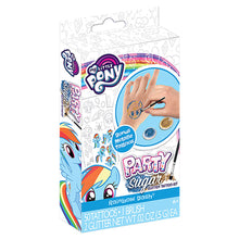 Load image into Gallery viewer, Hasbro My Little Pony Rainbow Dash Skin Sugar Mini Stencil & Prism Foil Activity Kit