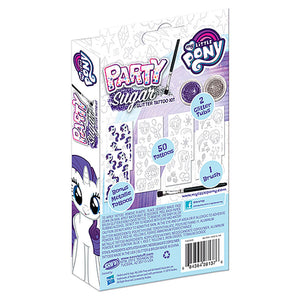 Hasbro My Little Pony Rarity Skin Sugar Mini Stencil & Prism Foil Activity Kit