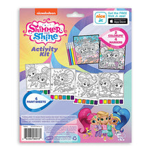 Load image into Gallery viewer, Nickelodeon Shimmer and Shine Color & Paint Activity Kit