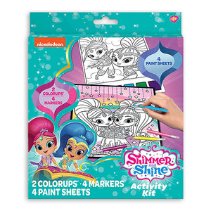 Nickelodeon Shimmer and Shine Color & Paint Activity Kit