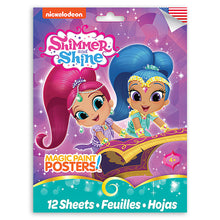 Load image into Gallery viewer, Nickelodeon Shimmer and Shine Magic Paint Poster