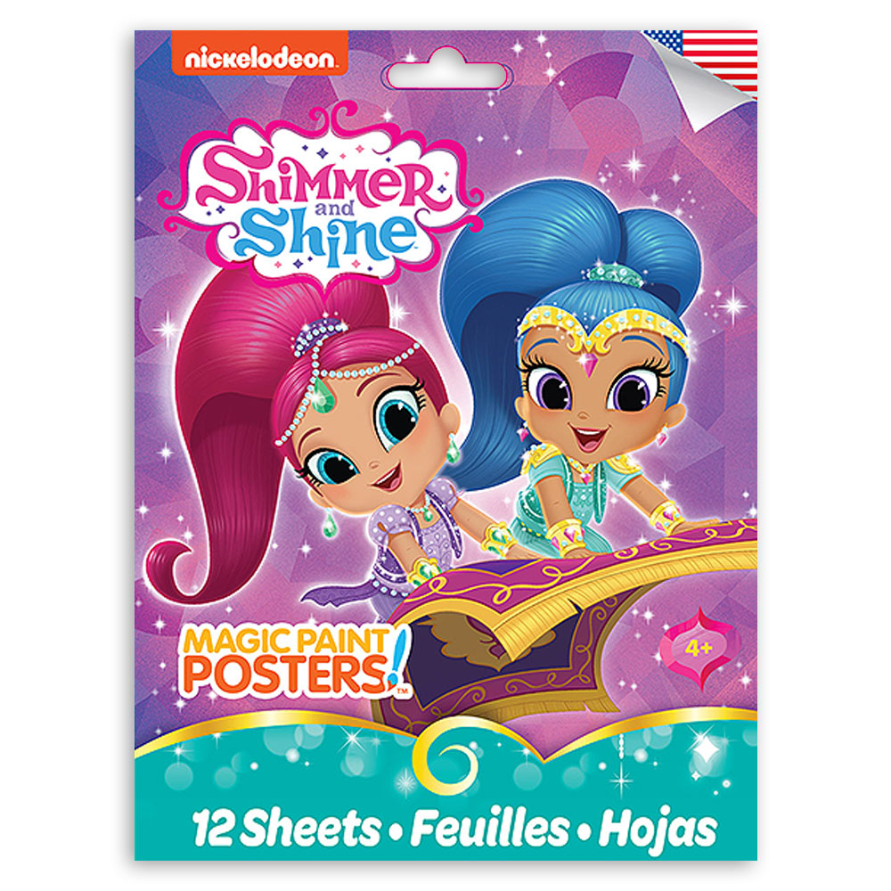 Nickelodeon Shimmer and Shine Magic Paint Poster