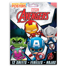 Load image into Gallery viewer, Marvel Avengers TeamUps Magic Paint Poster