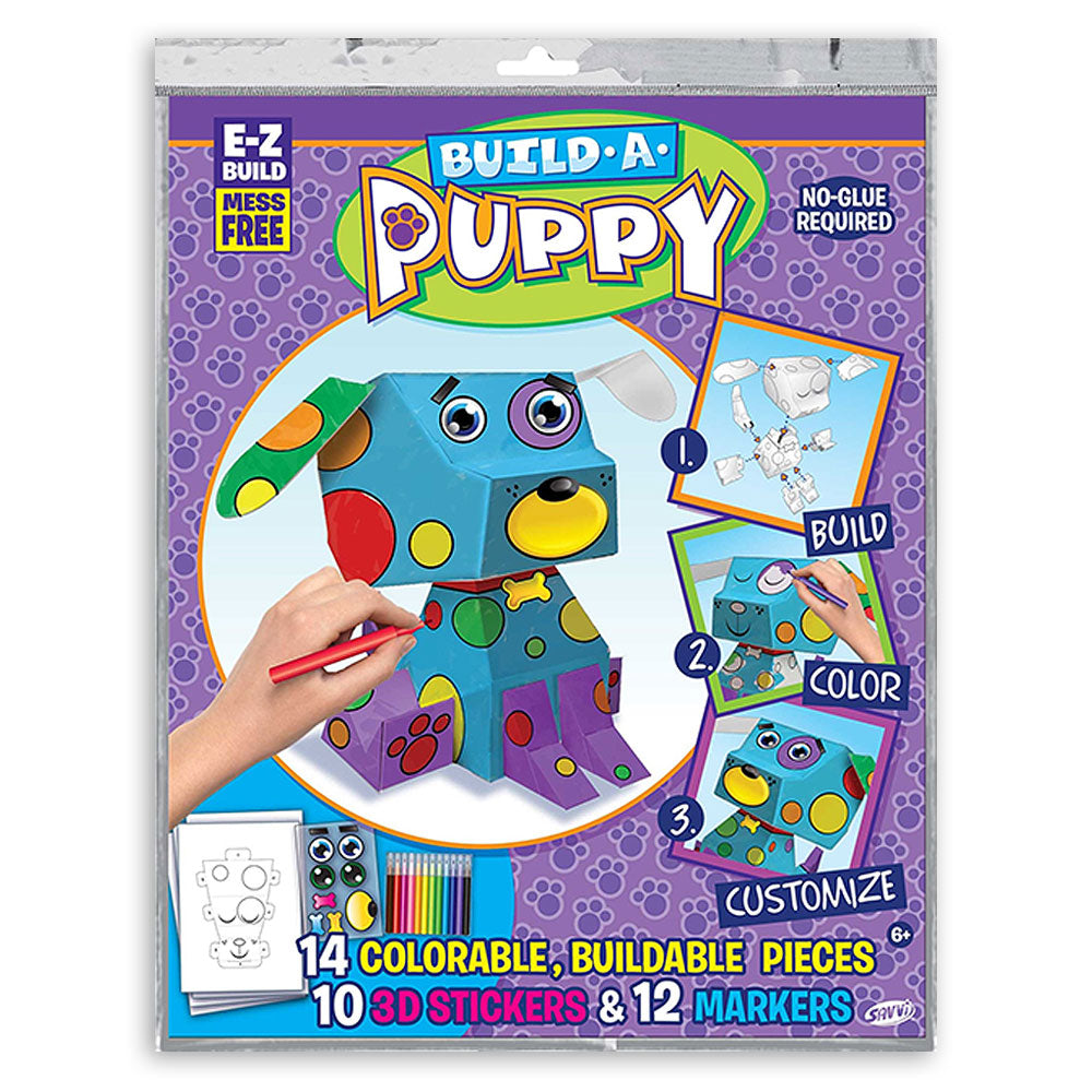 3D Build-A-Puppy Construction Kit