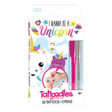 Load image into Gallery viewer, Tattoodles Glitter Gel Pen Tattoo Kit for Girls