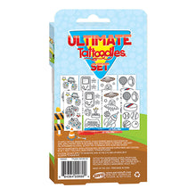 Load image into Gallery viewer, Tattoodles Glitter Gel Pen Tattoo Kit for Boys