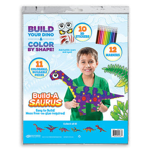 3D Build-A-Saurus Brachiosaurus Construction Kit