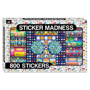 Gamer/Space/Sports Sticker Madness Activity Kit