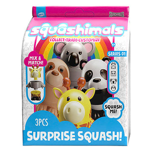 Squashimals Giraffe Patchy Patcherson Surprise Squash Series 1