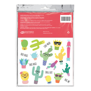 Cactus Temporary Tattoos