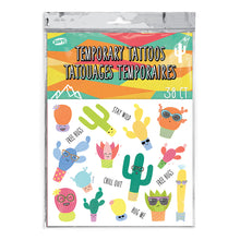 Load image into Gallery viewer, Cactus Temporary Tattoos