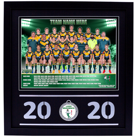 Framed Team Photo