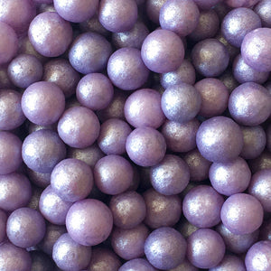 Purple Shimmer Pearls (7mm)