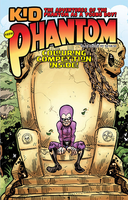 Kid Phantom Issue No 2, 2017