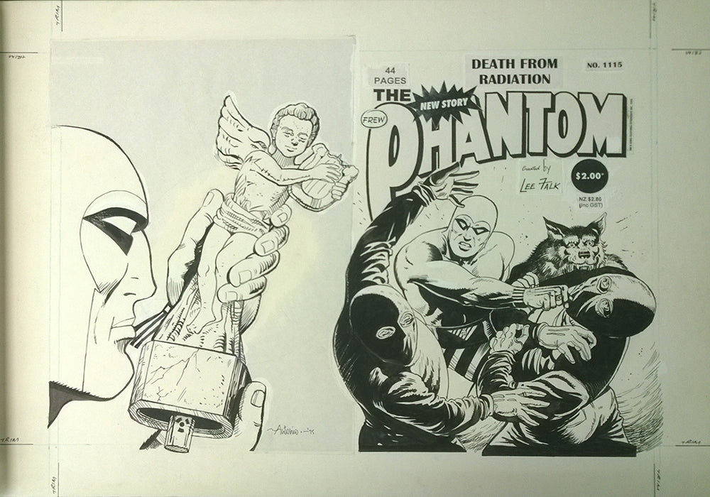 Original Cover Drawing of Antonio Lemos - Issue 1115 + Comic