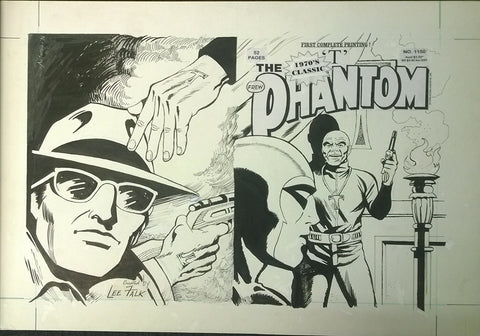 Original Cover Drawing of Antonio Lemos - Issue 1150 + Comic