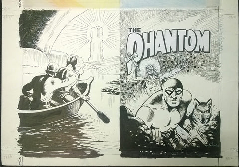 Original Cover Drawing of Antonio Lemos - Issue 1537 + Comic