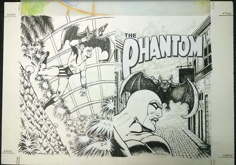 Original Cover Drawing of Antonio Lemos - Issue 1570 + Comic