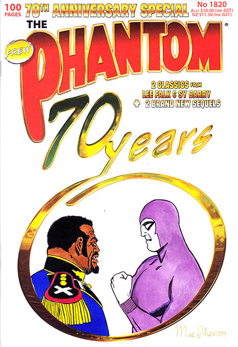 70th anniversary Sketch cover, Jeremy MacPherson 2