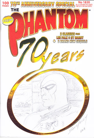 70th anniversary Sketch cover, Shane Foley 1