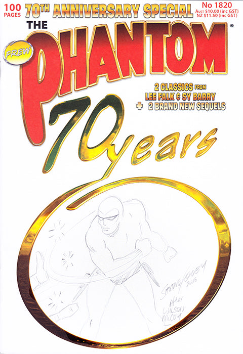 70th anniversary Sketch cover, Shane Foley 2