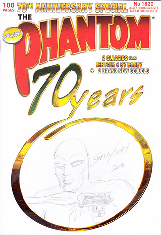 70th anniversary Sketch cover, Shane Foley 3